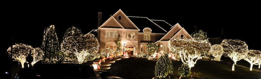 Christmas Light Installation in the Tri-Valley